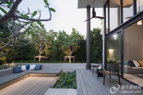带别墅楼盘的曼谷现代私家别墅商丘花园排行榜图片