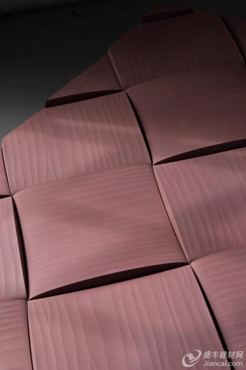 编织式样的混凝土瓷砖