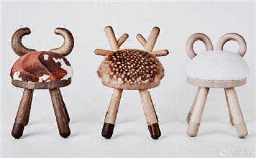 我们找到了所有那些时髦的动物形状的家具,我们忘记了孩子们喜欢可爱