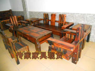 供应船木家具 --船木沙发