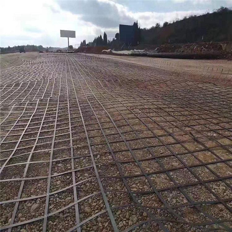 唐山鋼塑焊接土工格柵價格-多少錢一平方?