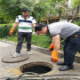 首都机场小区疏通下水道@