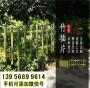 新闻:保定涞水竹篱笆竹栅栏围栏pvc仿木护栏@安装图片