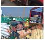馬鞍山竹籬笆竹圍欄山東省膠南竹欄桿pvc花壇護欄木護欄