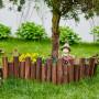 寧波竹籬笆竹子籬笆晉州市竹欄桿防腐竹籬笆木護欄