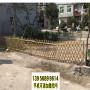圖們市竹籬笆草坪護欄咸陽三原竹圍欄pvc綠化護欄木柵欄
