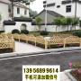 文登竹籬笆竹片圍欄茂名電白竹圍欄pvc護欄木柵欄