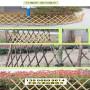 玛纳斯竹篱笆防腐木护栏菏泽市郓城竹围栏竹子护栏木栅栏