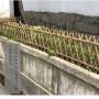 淮南八公山竹篱笆竹篱笆厂家平顶山鲁山县竹围栏伸缩碳化木护栏