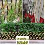 灯塔竹篱笆竹片护栏凉山甘洛竹围栏竹片护栏