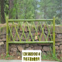 中牟縣竹籬笆木頭護欄盤錦盤山竹圍欄圍墻護欄木柵欄