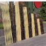 长葛竹篱笆木头护栏安庆宜秀竹围栏竹子栅栏木栅栏