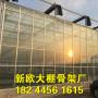 池州哈尔滨连栋温室 全钢架冬暖温室