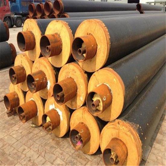 南通啟東預制鋼套鋼蒸汽保溫管廠家價格