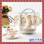 欧式骨瓷咖啡杯英式咖啡具套装个性创意陶瓷茶具套装花茶杯