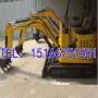 买了笑哈哈!10型柴油挖掘机 小挖机
