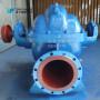 自貢自泵水泵廠ZS或中開蝸殼式單級雙吸離心泵循環泵清水泵