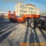 13.75米三線六軸挖掘機運輸半掛車載重尺寸及其價格
