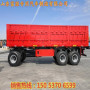 山東梁山5噸-10噸全掛平板拖車生產廠家價格優勢價格