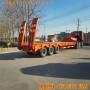 晋城市液压爬梯10米低平板运输半挂车尺寸及价格公告数据