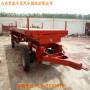 欽州市15噸帶剎車標準型平板拖車車廂尺寸
