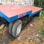 內蒙古6米20噸全掛平板拖車生產價格