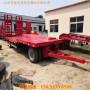 三亞市5米6米寬3米全掛車平板拖車規格價格-實時介紹
