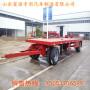 云南5米6米全挂平板半挂车新价格价格及标准构造