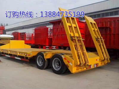 风电设备塔筒低平板半挂拖车尺寸出口非洲价格报价
