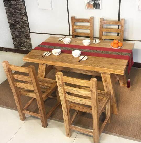 2021歡迎訪問##歷城區老榆木長條餐桌##生產廠家