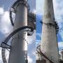 煙囪加裝螺旋爬梯 攀枝花煙囪安裝爬梯施工單位