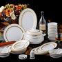 瓷器礼品骨瓷餐具套装定制厂家