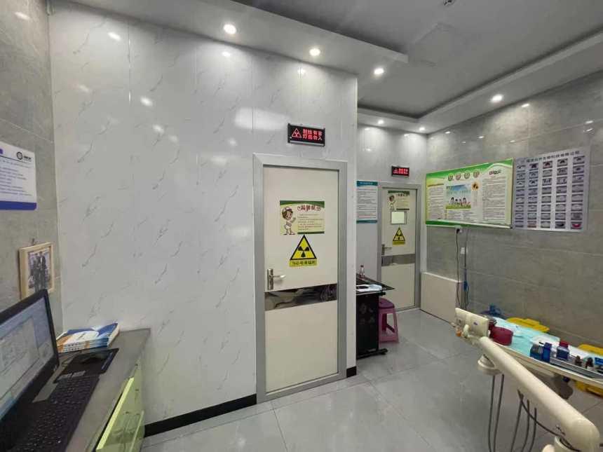 歡迎##梨樹區探傷DR寵物室鉛門濟南正興防護上門定制