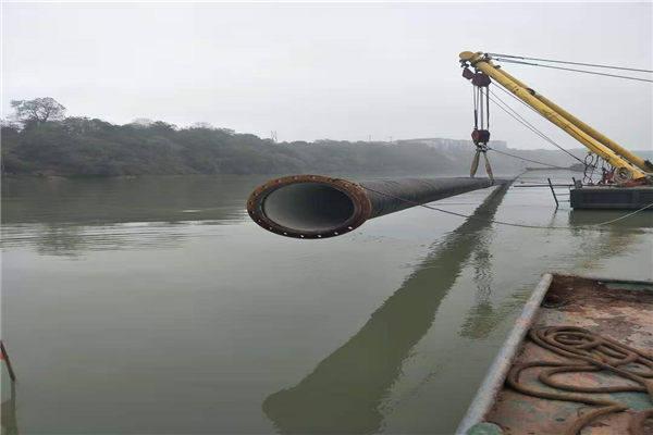 淮安市過河電纜鋪設公司——水上施工