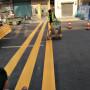 惠州市惠東縣鐵涌專做廠區劃熱熔字體施工廠家