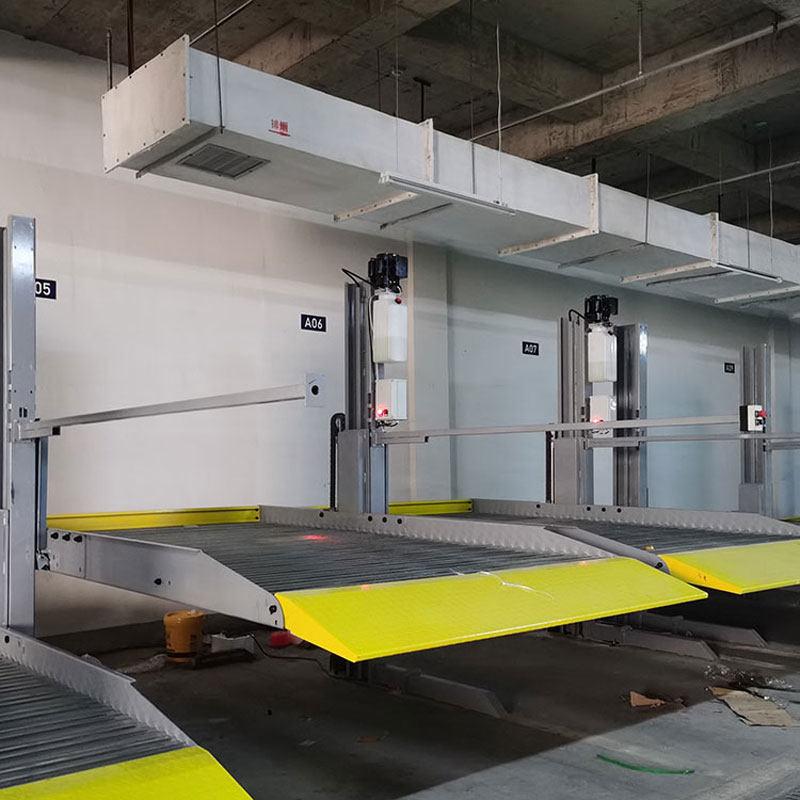 蘭州立體停車設備租賃 地面機械立體車庫出租 安裝機械停車設備