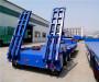 液压爬梯低平板拖车制造商@新乡