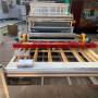 呼和浩特 地暖覆膜機廠 全自動水暖炕板覆膜設備 實地考察