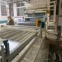 長治 地暖模塊覆膜機 地暖模塊壓槽覆膜一體機 現場試機