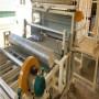 邢台 地暖模板生产设备 全自动地暖模块覆膜设备 现场试机