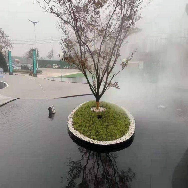淮南水景霧森系統 湖面霧噴設備實地商家