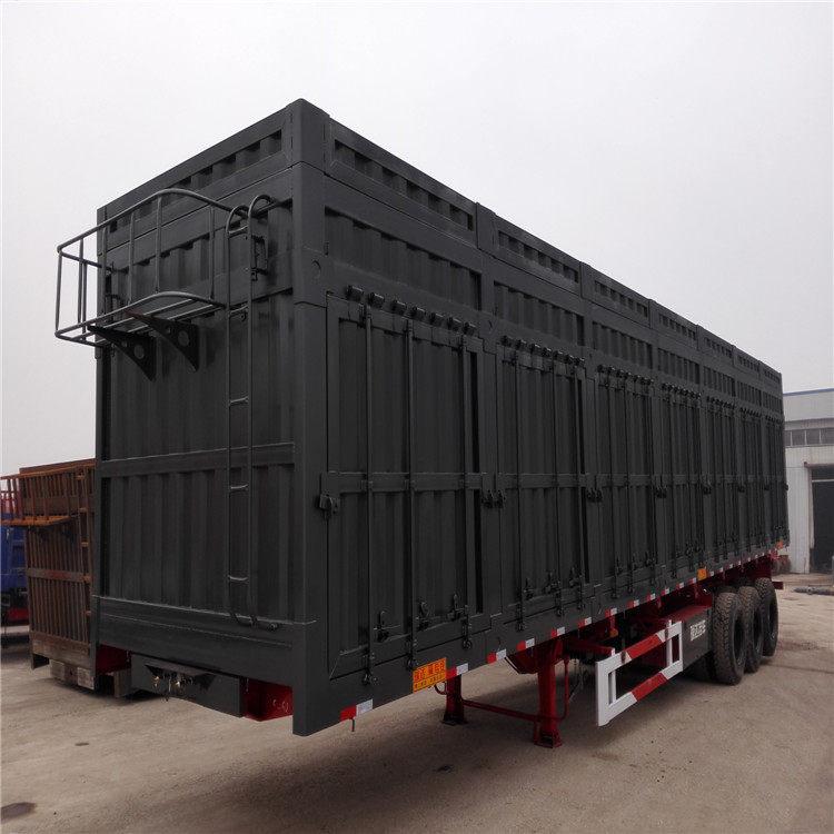 拖集裝箱的平板半掛車瀘州——價格多少錢