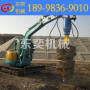 挖掘机钻孔机 小型泥土螺旋钻坑机