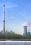 扬州市维扬锅炉烟囱新建、混凝土烟囱新建