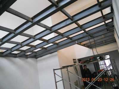 石家庄钢结构楼房加盖钢结构阁楼设计安装