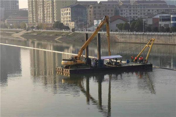 遵義市鋪設水下沉管-環保企業