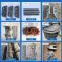 成都鍋爐配件鍋爐側密封鐵爐排片鍋爐夾板定做鍋爐配件鑄造廠