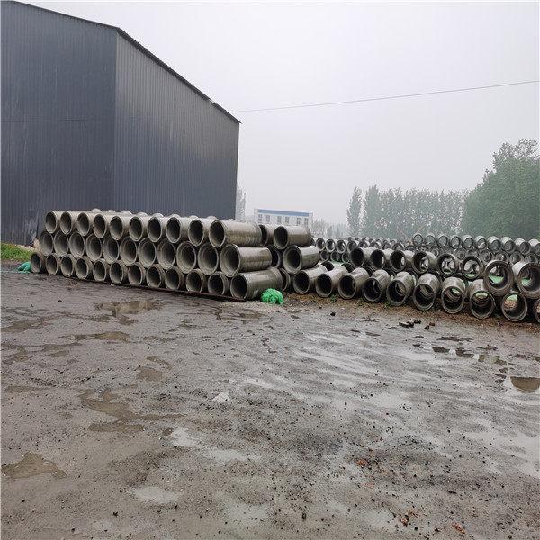 山西太原鋼混水泥管400mm無砂水泥管現場施工方法
