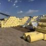 双鸭山养殖大棚玻璃棉毡/钢结构玻璃棉保温卷毡[价格美丽@公司]