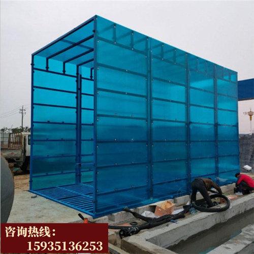 東營 工地紅外感應150噸沖洗平臺 工地車輛100噸洗車平臺
